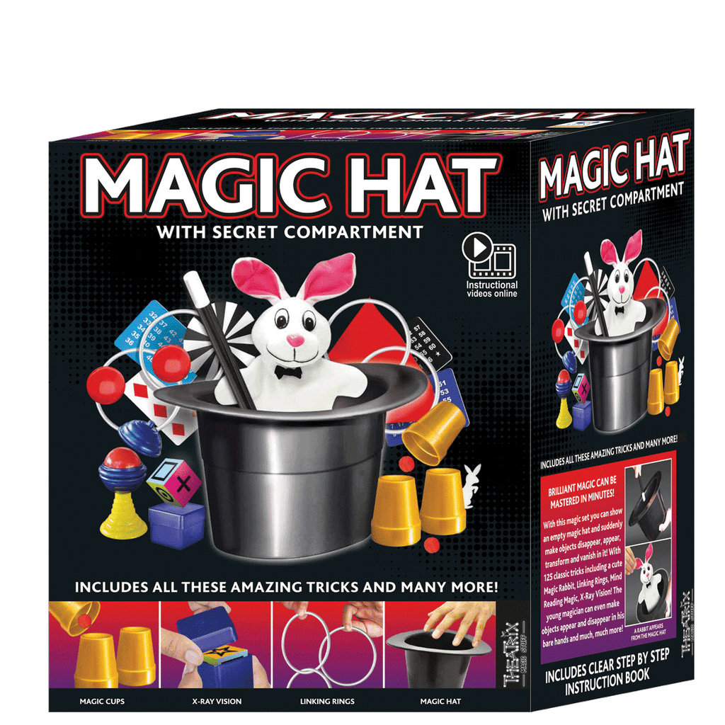 Ezama Magic Hat With Secret Compartment - Toyworld