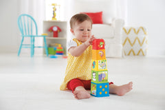 Fisher Price Stack And Explore Blocks Img 3 - Toyworld
