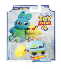HOT WHEELS TOY STORY 4 DUCKY AND BUNNY 8/8