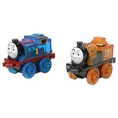 THOMAS AND FRIENDS MINIS LIGHT UPS BROWN AND BLUE