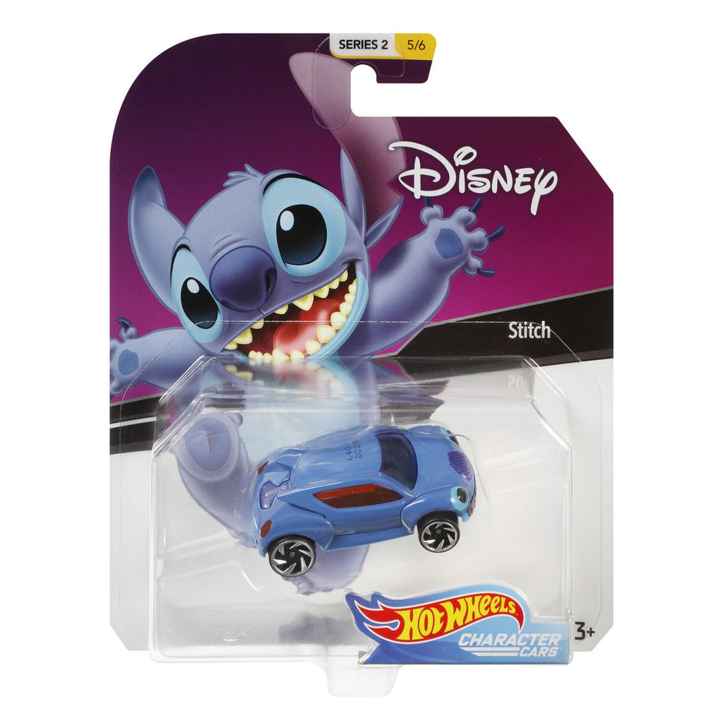 Hot Wheels Disney Character Car Series 2 56 Stitch - Toyworld