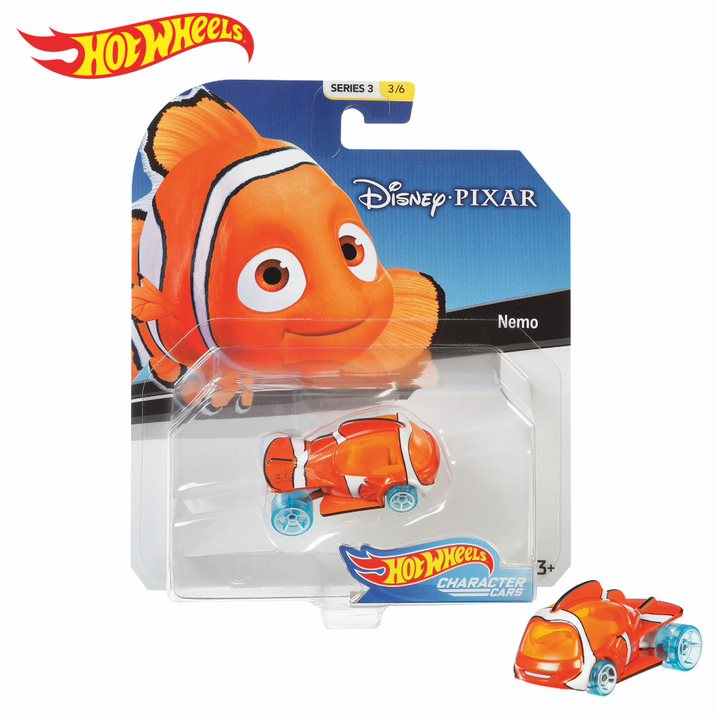 HOT WHEELS DISNEY CHARACTER CARS NEMO