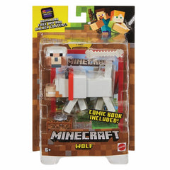 MINECRAFT 3.25IN COMIC MODE FIGS WOLF