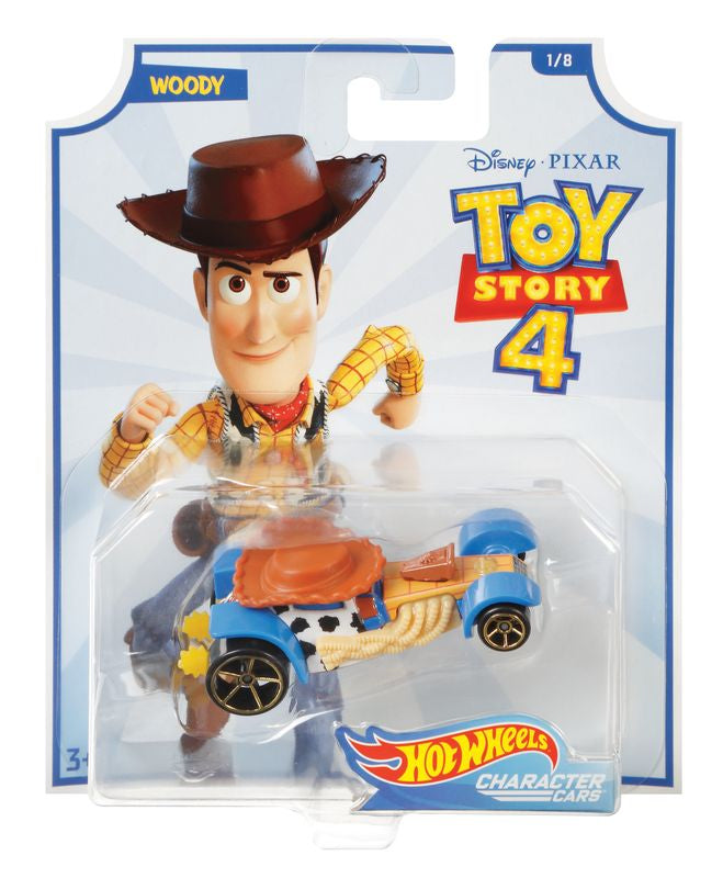 Hot Wheels Toy Story 4 Woody 18 - Toyworld