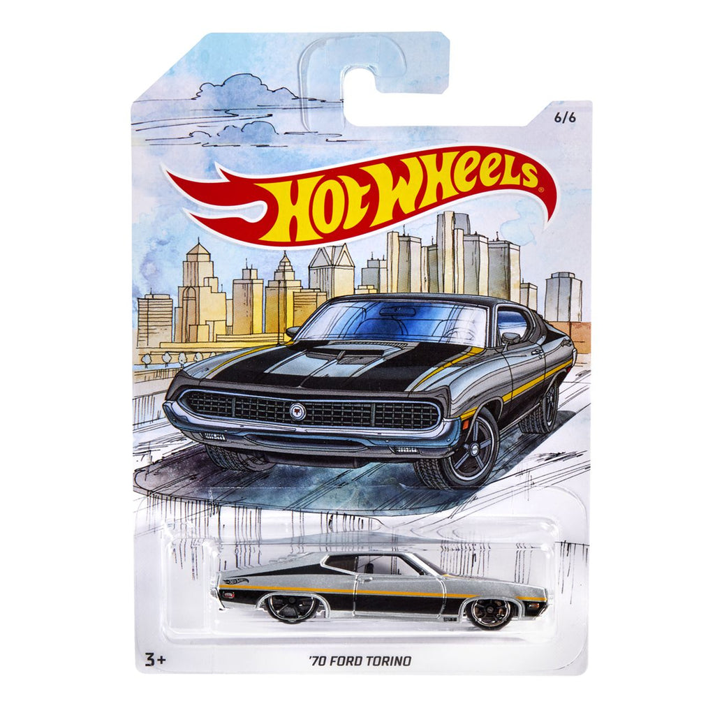 HOT WHEELS DETROIT MUSCLE 70 FORD TORINO