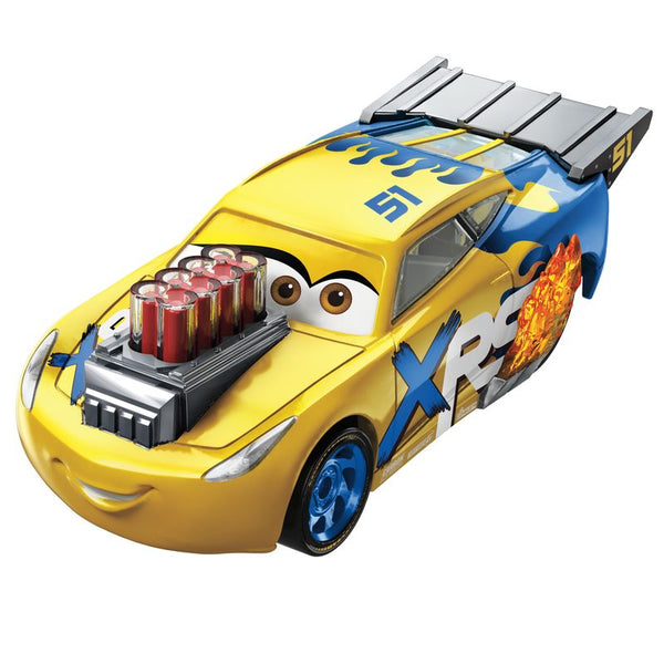 DISNEY PIXAR CARS XRS DRAG RACING SINGLE CRUZ RAMIREZ
