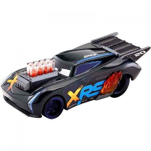 DISNEY PIXAR CARS XRS DRAG RACING SINGLE JACKSON STORM