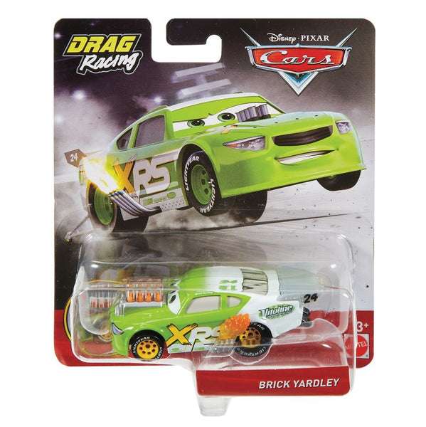 DISNEY PIXAR CARS XRS DRAG RACING SINGLE BRICK YARDLEY
