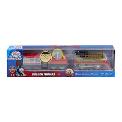THOMAS & FRIENDS TRACKMASTER GOLDEN THOMAS