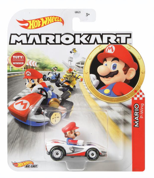 Hot Wheels Mario Kart Mario - Toyworld