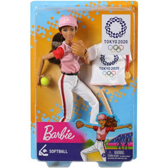 Barbie I Can Be Olympic Doll Softball - Toyworld