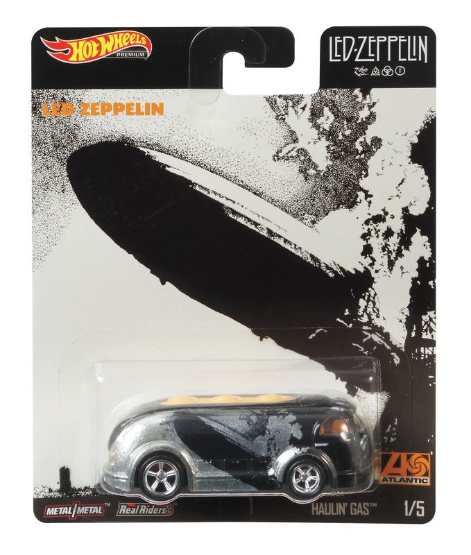 Hot Wheels Pop Culture Vehicle Led Zeppelin 15 Haulin Gas - Toyworld