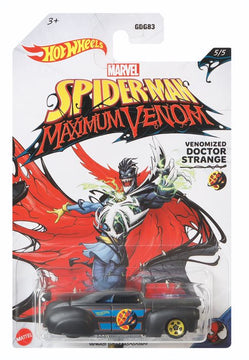 Hot Wheels Marvel Spiderman Maximum Venom Venomized Doctor Strange - Toyworld
