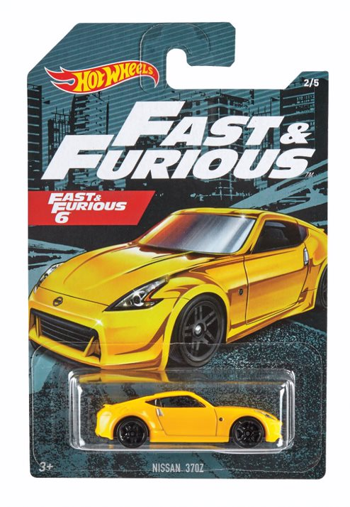 Hot Wheels Themed Auto Fast & Furious Nissan 370Z 2/5 - Toyworld