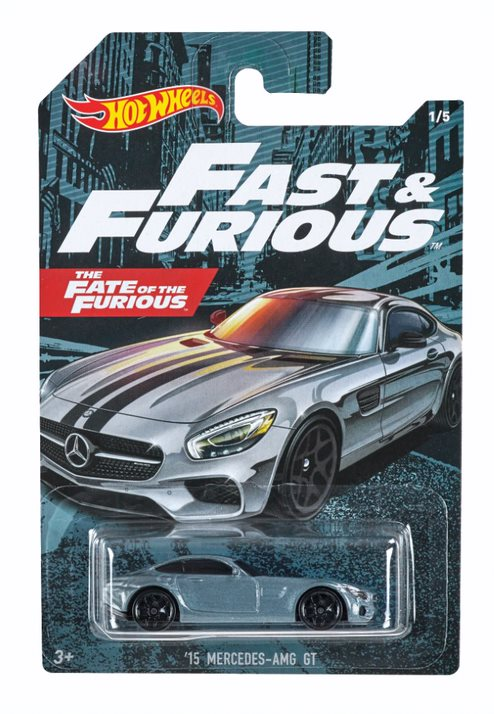 HOT WHEELS THEMED AUTO FAST AND FURIOUS '15 MERCEDES AMG 1/5