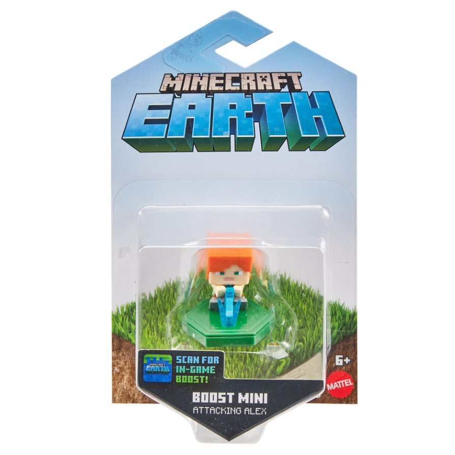 MINECRAFT BOOST MINI FIGURE SINGLES ALEX