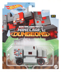 Hot Wheels Minecraft Cars Redstone Monstrosity - Toyworld