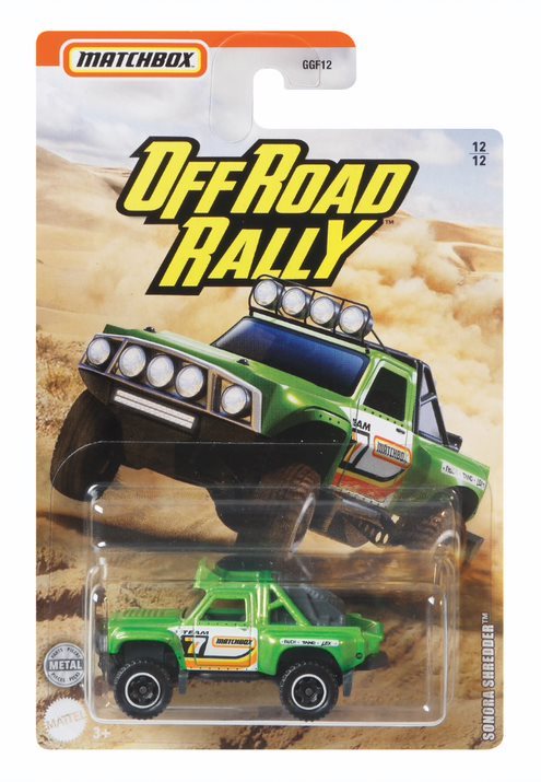 MATCHBOX OFF ROAD RALLY SONORA SHREDDER