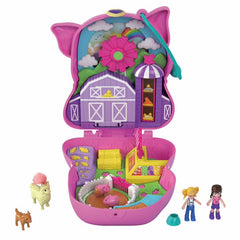 Polly Pocket On The Farm Piggy Compact Img 2 - Toyworld