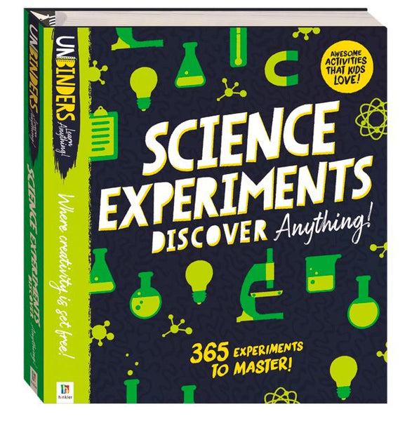 UNBINDERS - SCIENCE EXPERIMENTS DISCOVER ANYTHING!