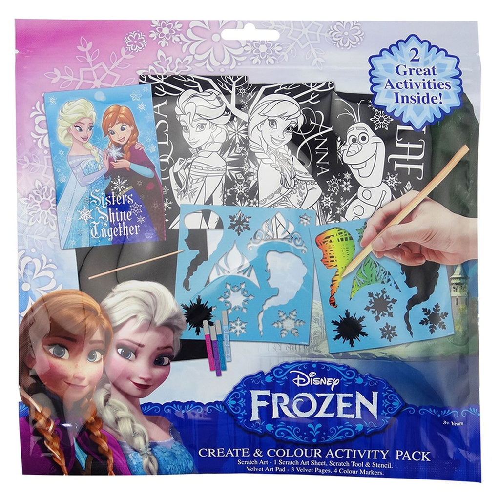 Frozen Create Color Activity Pack - Toyworld