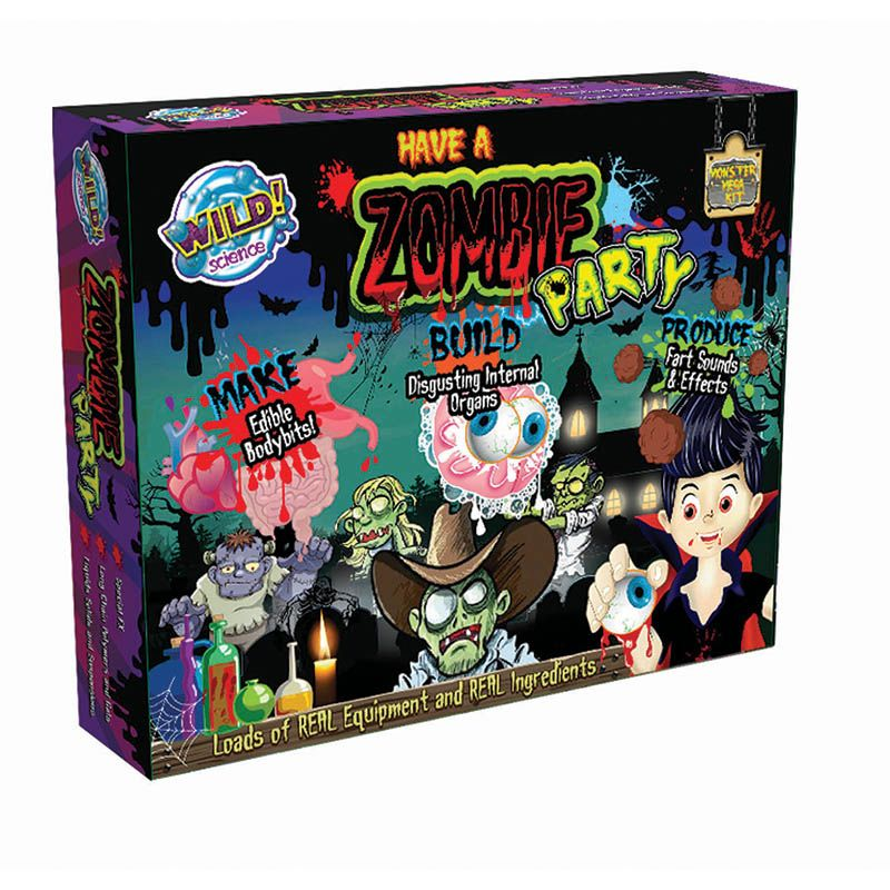 WILD SCIENCE MEGA KIT ZOMBIE PARTY