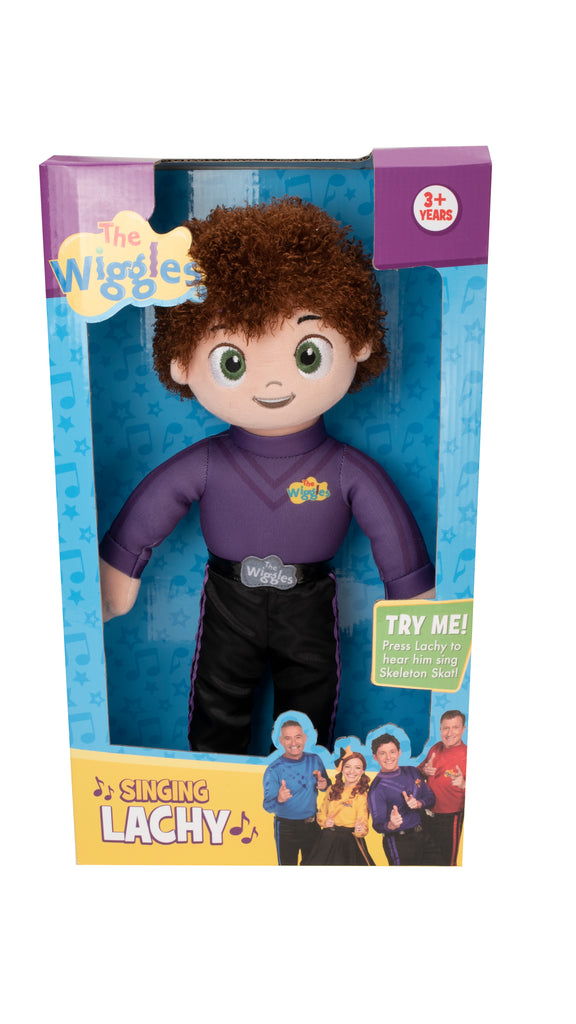 The Wiggles Singing Lachy Plush - Toyworld
