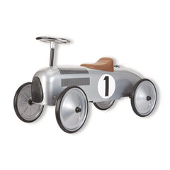 METAL SPEEDSTER RIDE ON SILVER