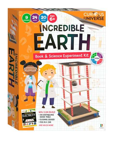 CURIOUS UNIVERSE KIDS - INCREDIBLE EARTH