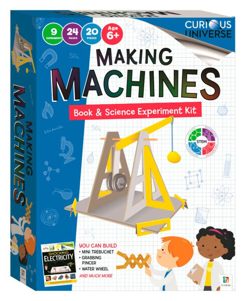 CURIOUS UNIVERSE KIDS - MAKING MACHINES