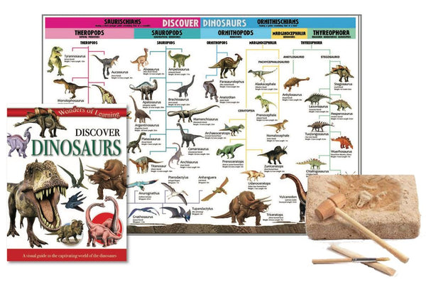 Discover Dinosaurs Tin - Toyworld