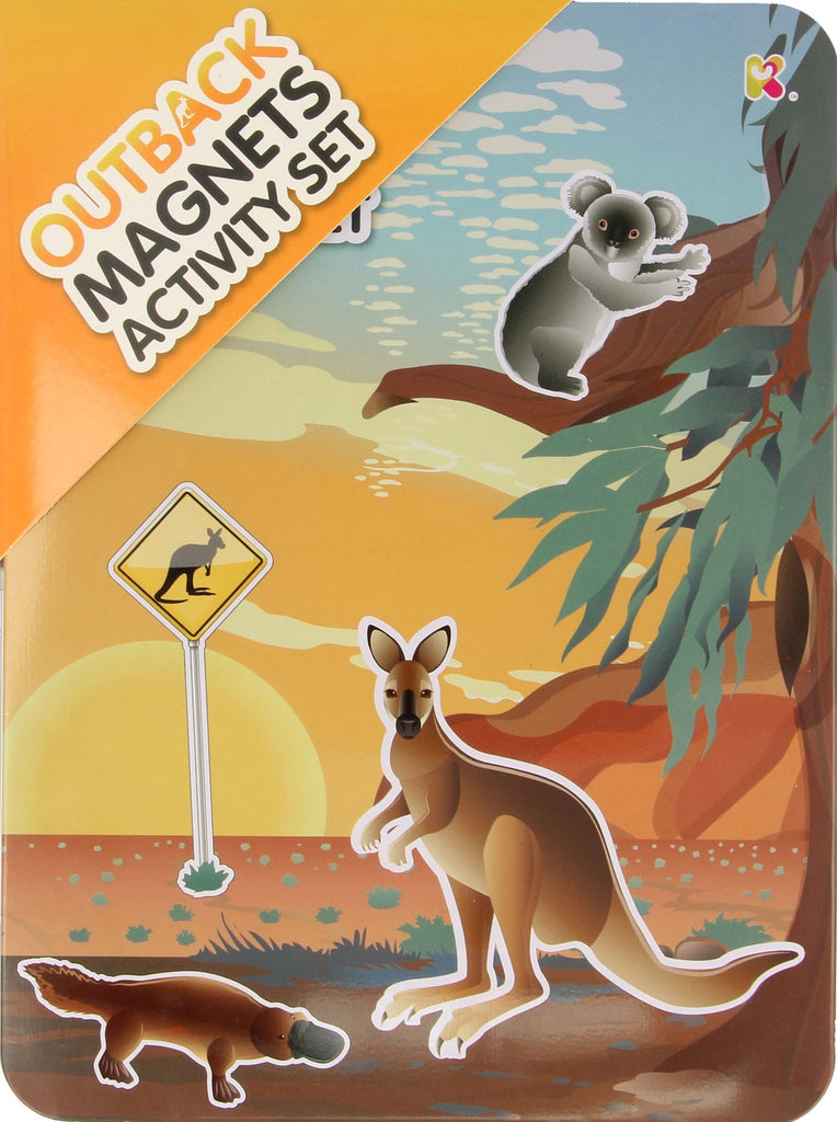 Outback Magnets Activity Set - Toyworld