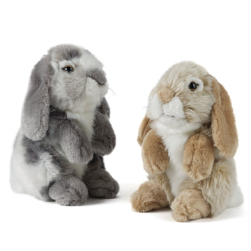 Sitting Lop Eared Rabbit - Toyworld