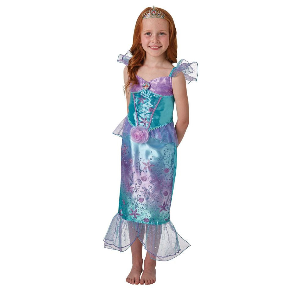 Ariel Rainbow Deluxe Costume Size 3 To 5 - Toyworld