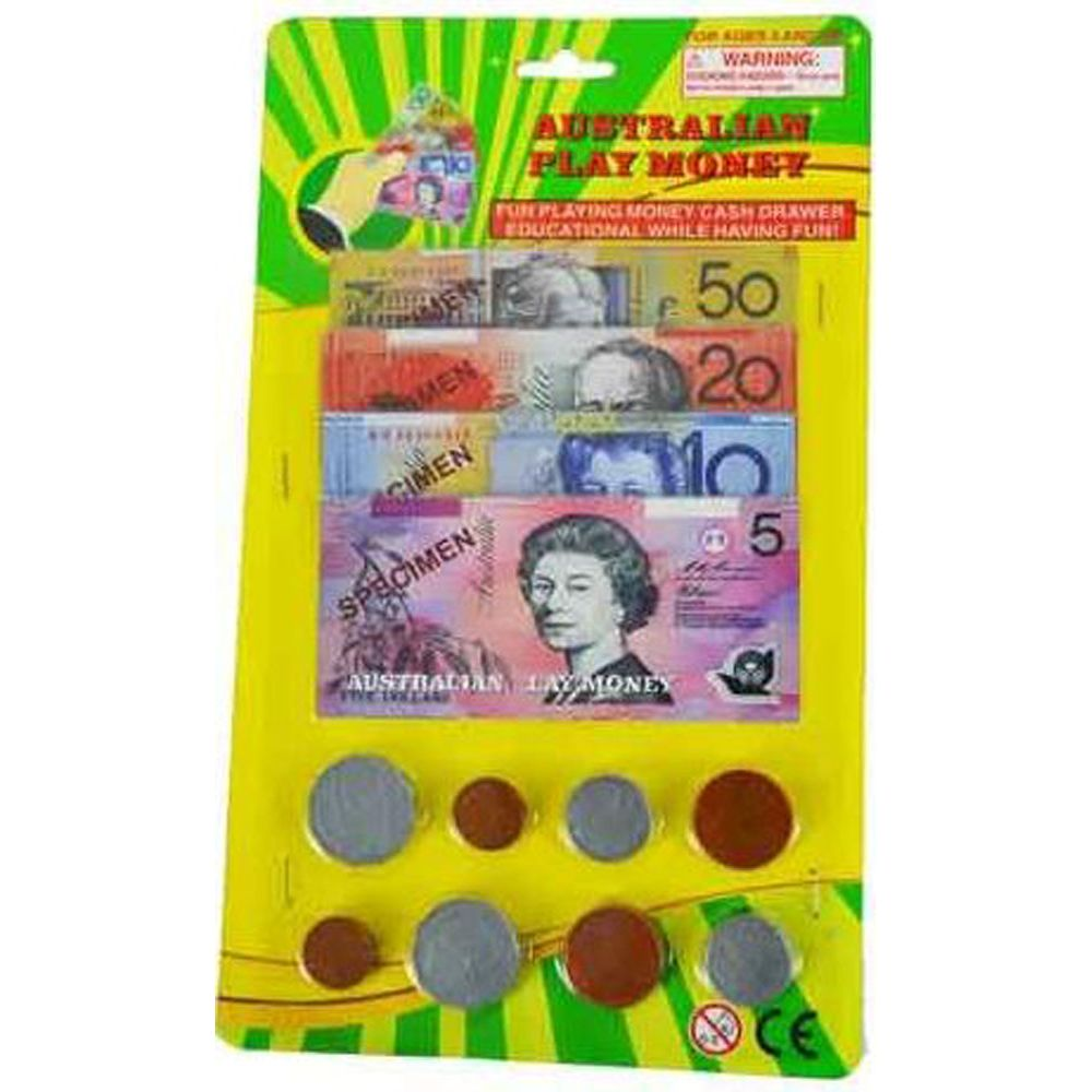 AUSTRALIAN PLAY MONEY