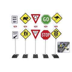 AUSTRALIAN ROAD SIGNS 5 PACK