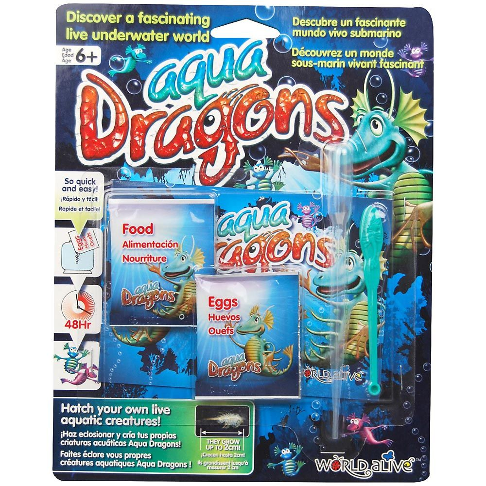 Aqua Dragons Refill Pack - Toyworld