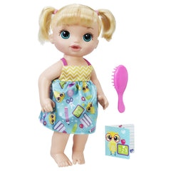 Baby Alive Ready For School Baby Blonde Img 1 - Toyworld