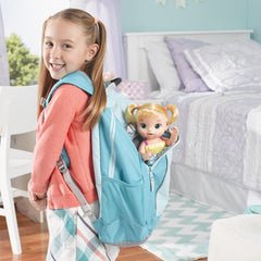Baby Alive Ready For School Baby Blonde Img 2 - Toyworld