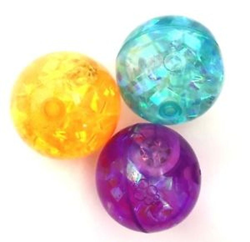 Ball Light Up Streamers Water Glitter Assorted Colours - Toyworld
