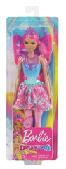 Barbie Fairytale Core Dreamtopia Fairy Pink Img 1 - Toyworld