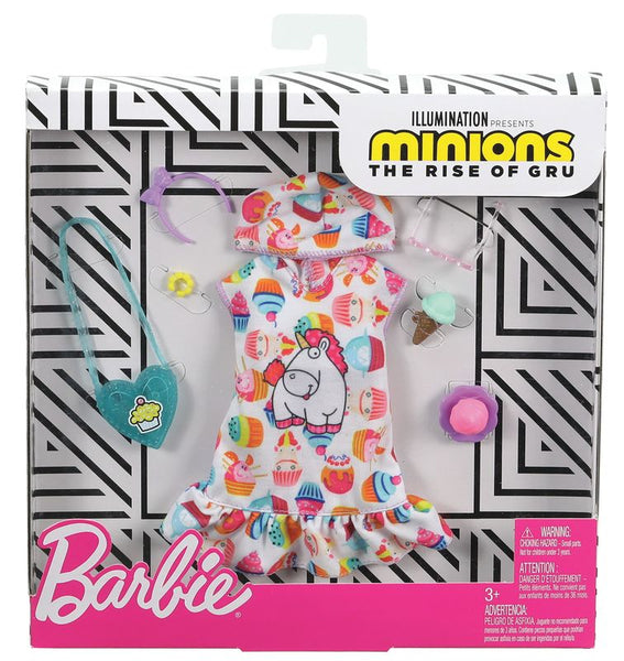 Barbie Fashions Minions Unicorn Dress - Toyworld