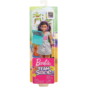 Barbie Team Stacie Brown Hair - Toyworld