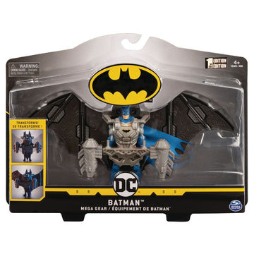 Batman 4 Inch Deluxe Figure Mega Gear Batman - Toyworld