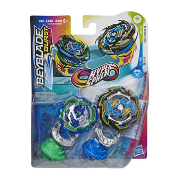 Beyblade Burst Rise Hypersphere Dual Pack Rock Dragon D5 & Ogre O5 - Toyworld