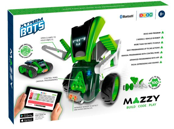 XTREM BOTS - MAZZY: BUILD, CODE, PLAY