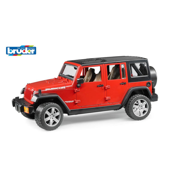 BRUDER 1:16 JEEP WRANGLER UNLIMITED RUBICON