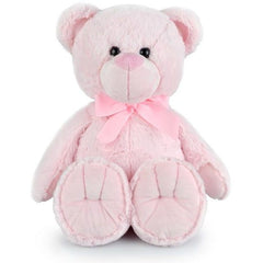 Buddy Pink Bear Plush - Toyworld