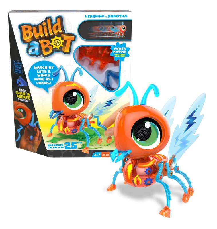 Build A Bot Fire Ant - Toyworld