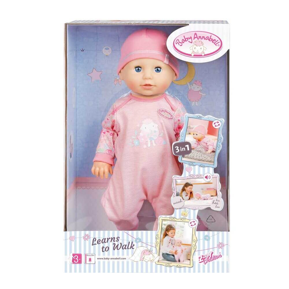 Baby Annabell Learns To Walk - Toyworld